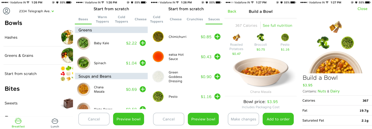 The Eatsa App