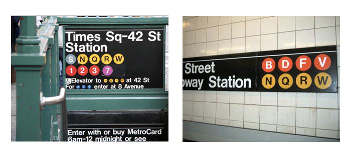 new York station subway